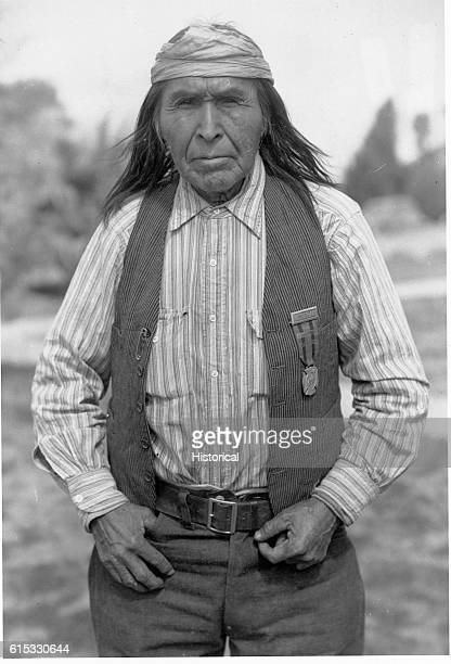 An exscout in Geronimo campaign He is 78 years old