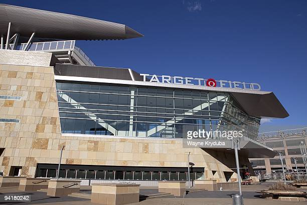 An exterior general view of Target Field's Metropolitan Club on November 2 2009 at Target Field in Minneapolis Minnesota The opening day game is...
