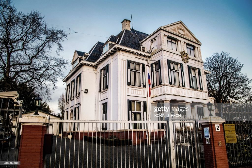 The hague russian embassy