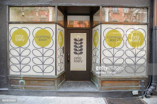 An exterior view at the Orla Kiely presentation during New York Fashion Week September 2016 on September 8 2016 in New York City