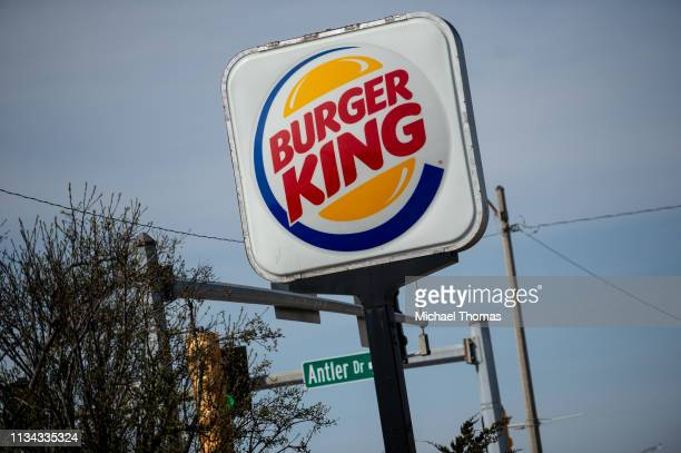 An exterior view of a Burger King restaurant on April 1 2019 in Richmond Heights Missouri Burger King announced on Monday that it is testing out...