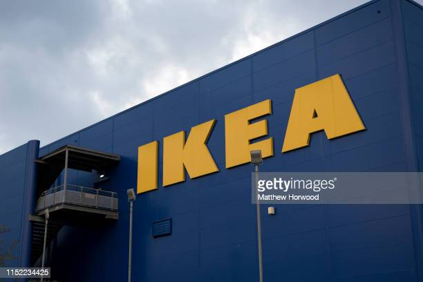 An exterior view of a Ikea store on May 27, 2019 in Cardiff, United Kingdom.