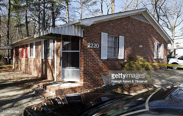 An exterior view of a onestory brick duplex structure at 2220 Lincoln St is shown Thursday February 18 2010 in Durham North Carolina Durham police...