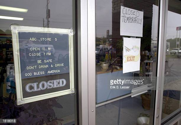 An exterior view of a staterun liquor store is shown October 24 2002 in Montgomery Alabama Police are looking into links between a September shooting...