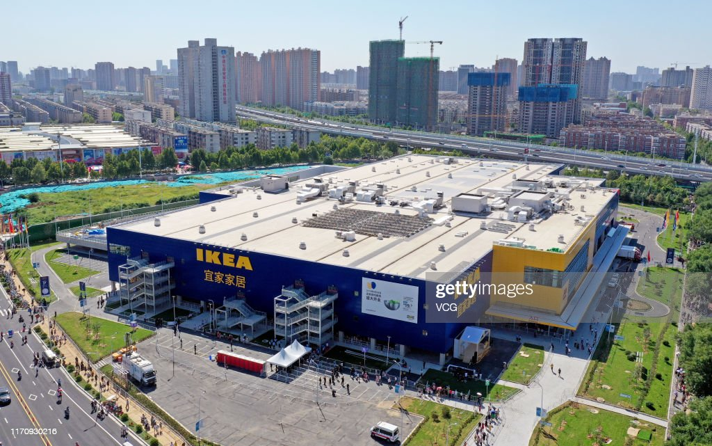 IKEA Opens First Store In Henan Province : News Photo