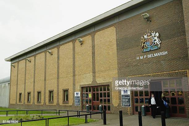 An exterior view of Belmarsh high security prison on October 8 2004 in London The conditions at Belmarsh Prison have been compared to the extreme...