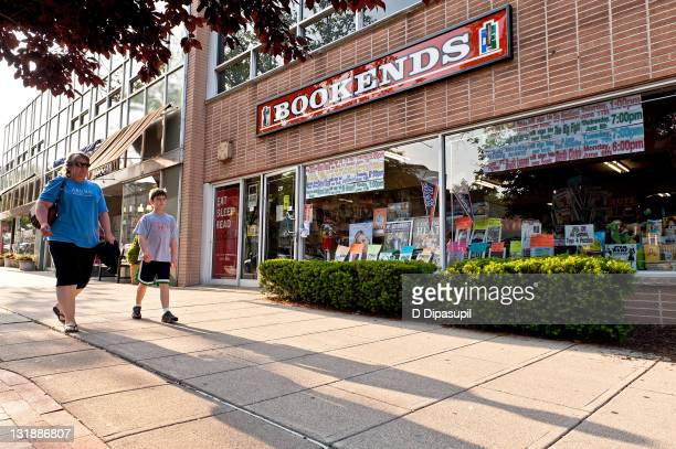 """An exterior view of Bookends Bookstore before Kathie Lee Gifford arrives to promote """"The Legend of Messy M'Cheaney"""" at Bookends Bookstore on May 31,..."""