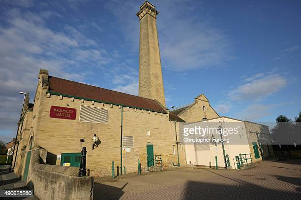 An exterior view of Bramley Baths on September 2 2015 in Leeds England ramley Baths first opened as a pool and public bathhouse in 1904 for local...