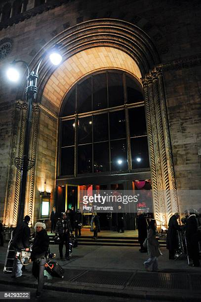 An exterior view of Cipriani during the 2008 National Board of Review awards gala on January 14 2009 in New York City