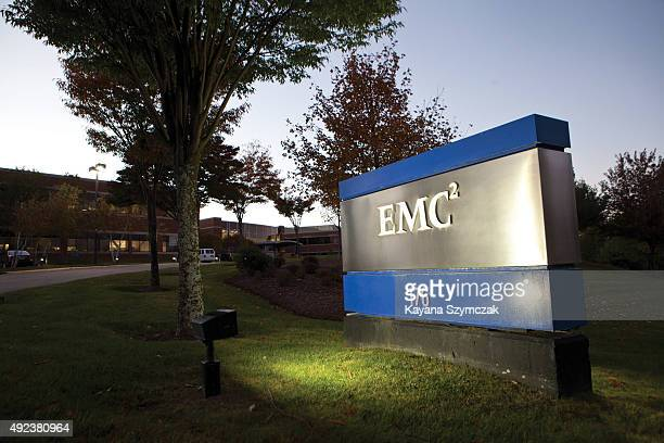 An exterior view of EMC Corporation world headquarters on October 12 in Hopkinton Massachusetts In the biggest tech merger in history Dell announced...