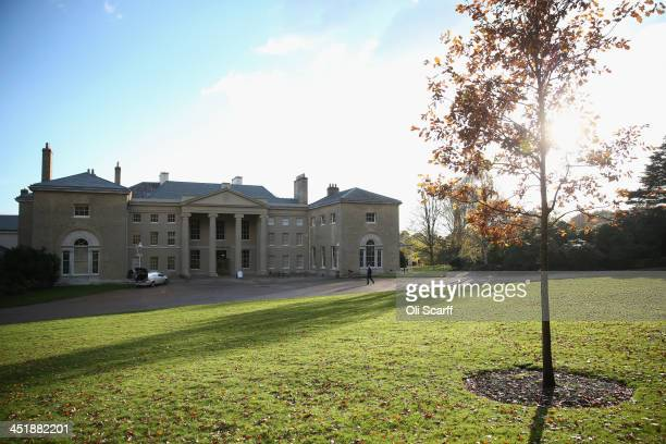 An exterior view of English Heritage's Kenwood House on the northern edge of Hampstead Heath which has undergone a major refurbishment on November 21...