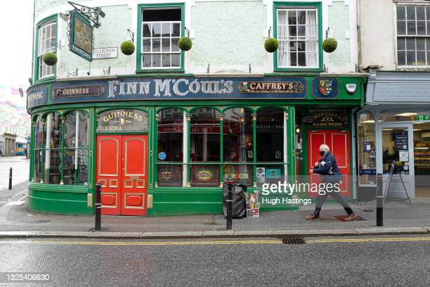 An exterior view of Finn McCouls pub, which was closed for eleven days in June due to covid restrictions and would face the same closure again if...