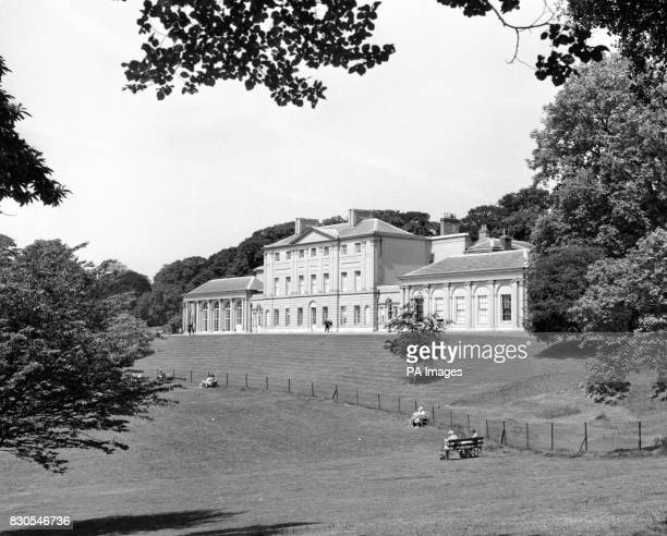 An exterior view of Kenwood House Hampstead London