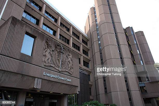 02 An exterior view of Liverpool Crown Court where the trial of Sean Mercer age 18 accused of murdering schoolboy Rhys Jones begins today at...