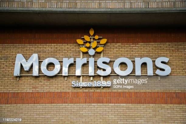 An exterior view of Morrison Supermarket in north London. On Tuesday 7 Jan 2020, Wm Morrison Supermarkets will release its Christmas trading...