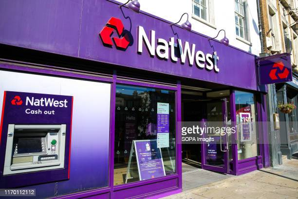 An exterior view of NatWest Bank in central London NatWest is a major retail and commercial bank in the United Kingdom