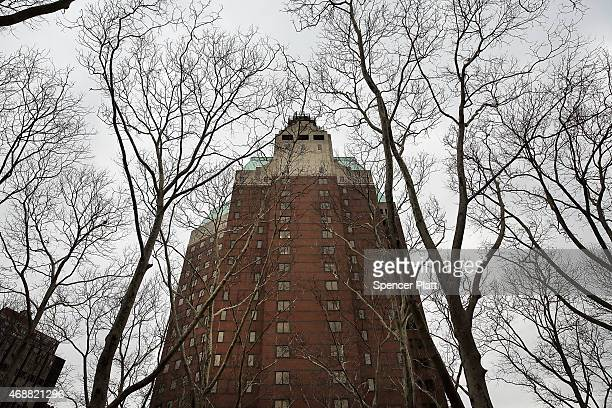 An exterior view of One Pierrepont Plaza which according to reports is to be the future headquarters for the presidential campaign of Hillary Clinton...