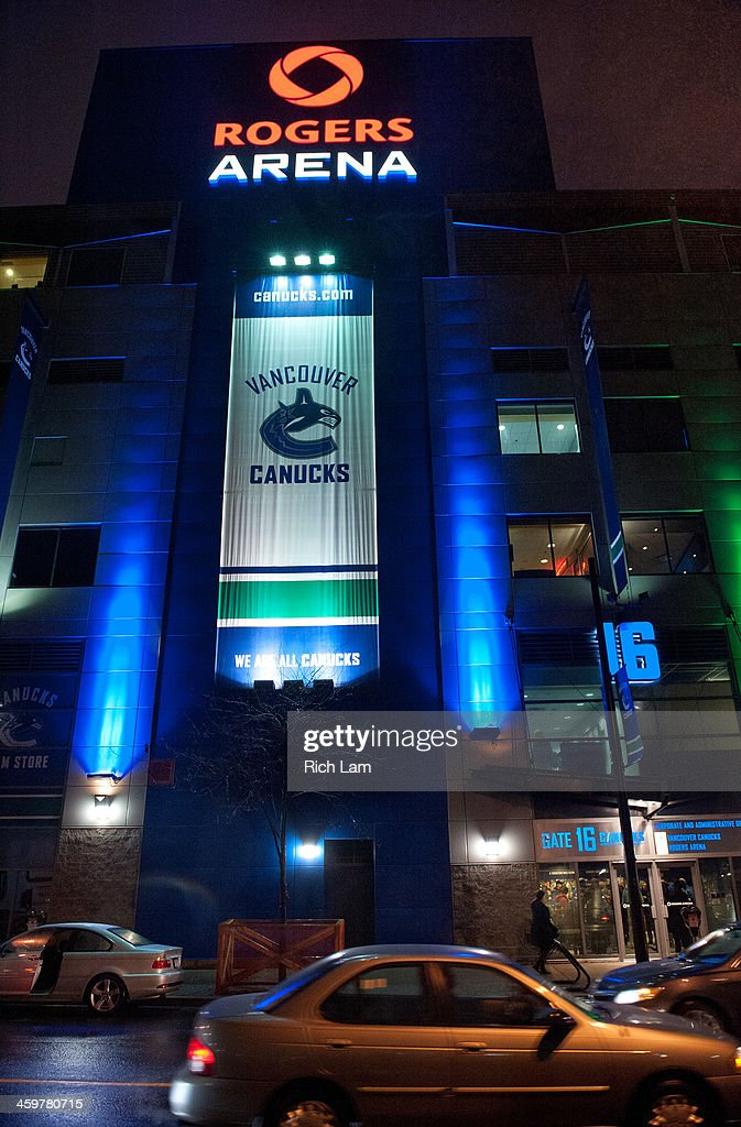 low priced 59355 15590 An exterior view of Rogers Arena before a NHL game between ...