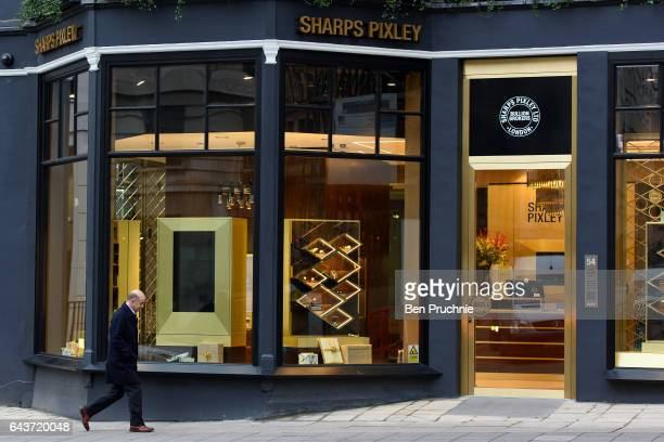 An exterior view of Sharps Pixley Bullion Brokers on December 16 2015 in London England The brand established in 1778 is owned by the German based...