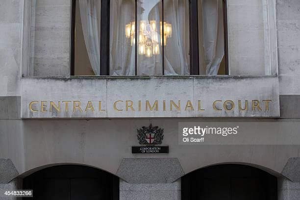 An exterior view of the Central Criminal Court known as the 'Old Bailey' on September 3 2014 in London England The Old Bailey began as a sessions...