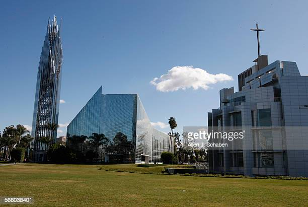 An exterior view of the Crystal Cathedral in Garden Grove. The Crystal Cathedral is having money problems and is attempting to reinvent the church....