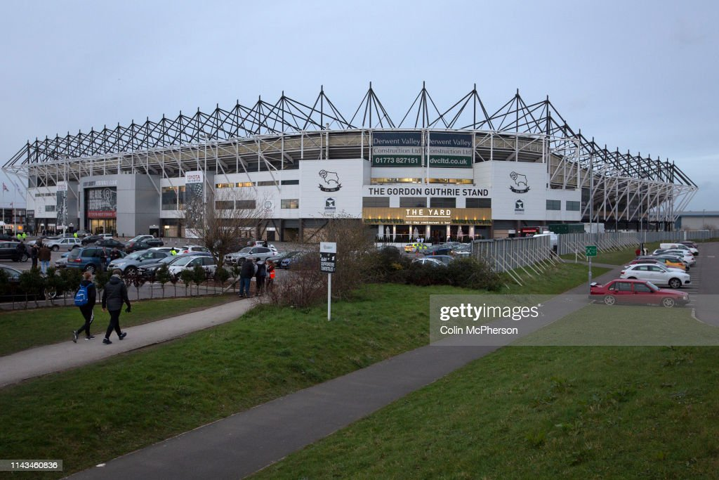 United Kingdom - Derby - Derby Country Versus Stoke City Football Match : News Photo