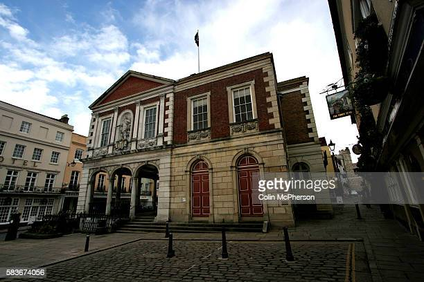 An exterior view of the Guildhall The marriage of the Prince of Wales and Mrs ParkerBowles is set to take place at the Guildhall Windsor on April 8...