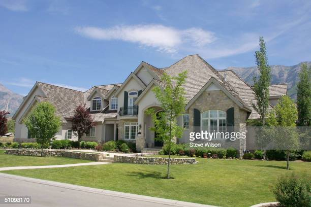 An Exterior View Of The House Of Donny Osmond June 10, 2001 In Provo, Ut.