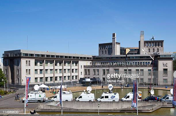 An exterior view of the International Criminal Tribunal for the former Yugoslavia where chief prosecutor Serge Brammertz is answering questions at a...