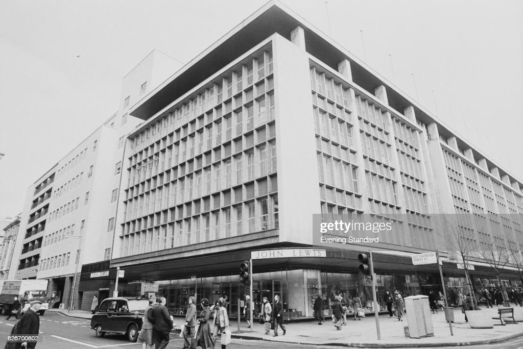 An Exterior View Of The John Lewis Department Store On Oxford Street,  London, 6th
