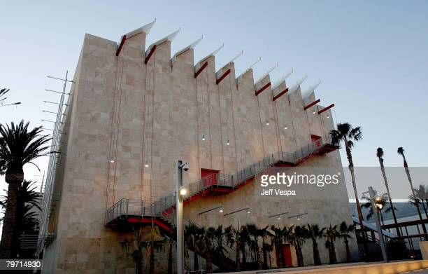 An exterior view of the new Broad Contemporary Art Museum prior to LACMA's Opening Celebration on February 9, 2008 in Los Angeles, California.