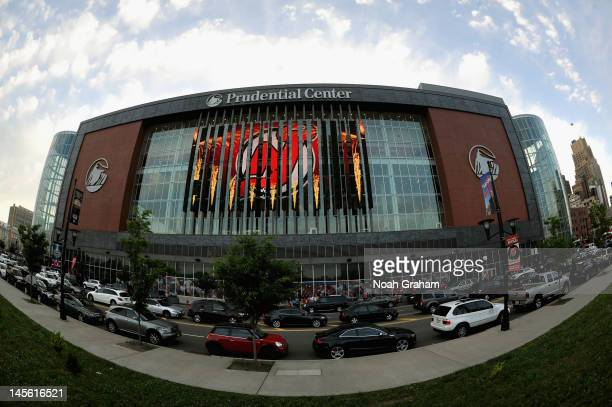 An exterior view of the Prudential Center seen before Game Two of the 2012 Stanley Cup Final between the New Jersey Devils and the Los Angeles Kings...