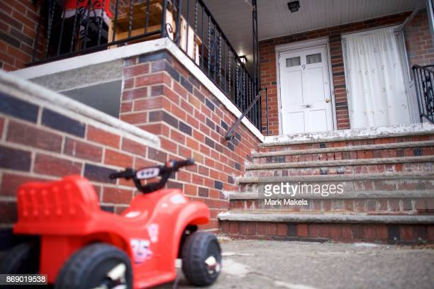 An exterior view of the residence of Sayfullo Saipov the suspect who drove a pickup truck on a bike path in lower Manhattan killing 8 peple and...