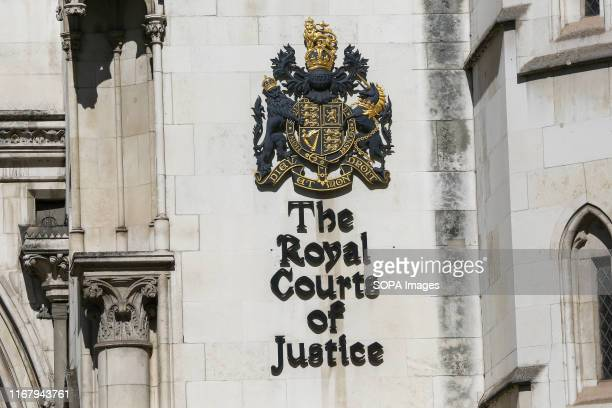 An exterior view of the Royal Courts of Justice in London. The Royal Courts of Justice, commonly called the Law Courts, is a court building in London...