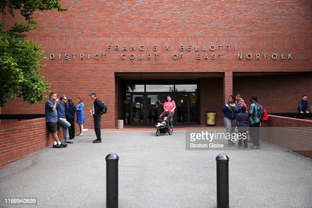 An exterior view of Trial Court at Quincy District Court in Quincy, MA on Sept. 11, 2014.