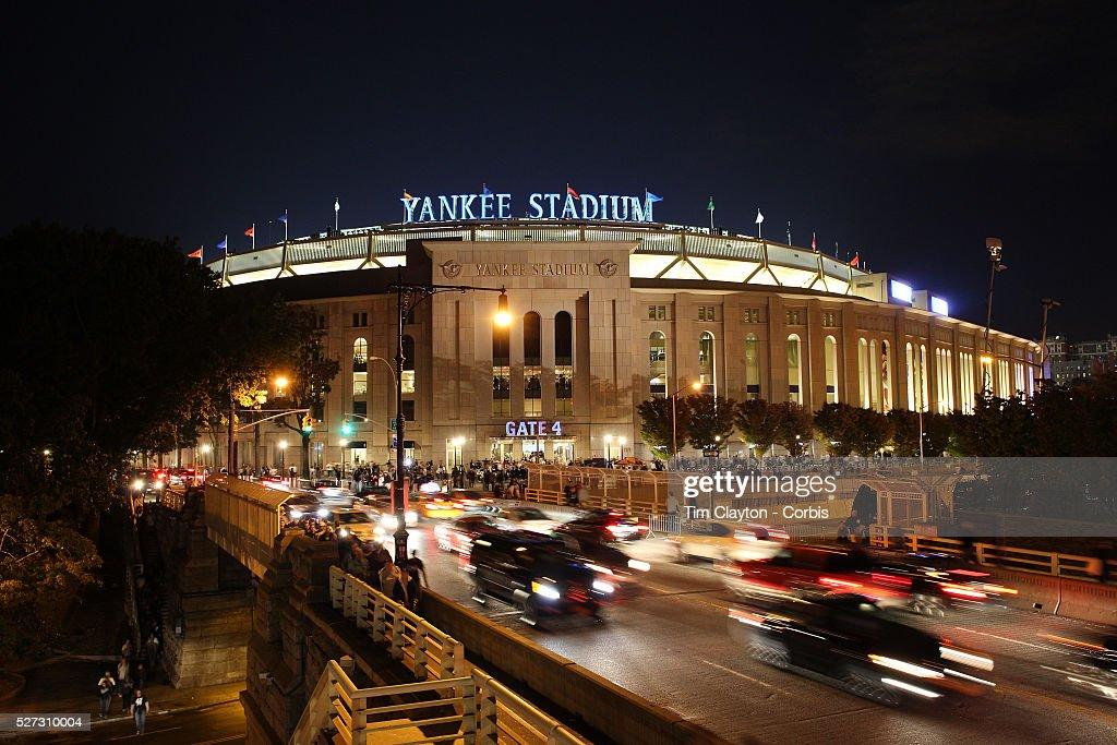 Empty Yankee Stadium At Night Yankee Stadium, The Br...
