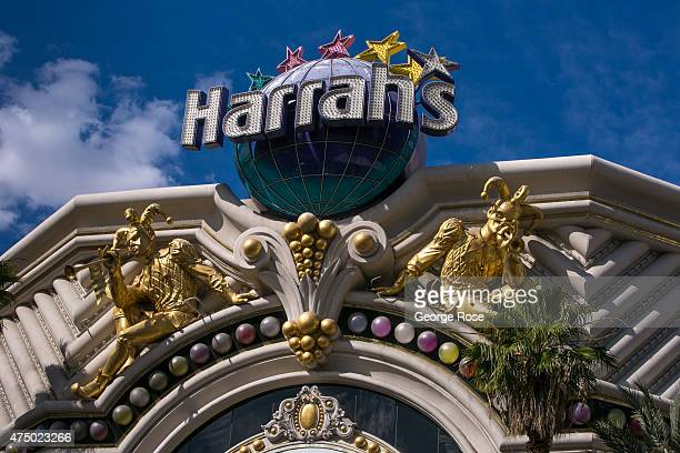 An exterior view shows Harrah's Las Vegas on May 17 2015 in Las Vegas Nevada Tourism in America's 'Sin City' has within the past year made a major...