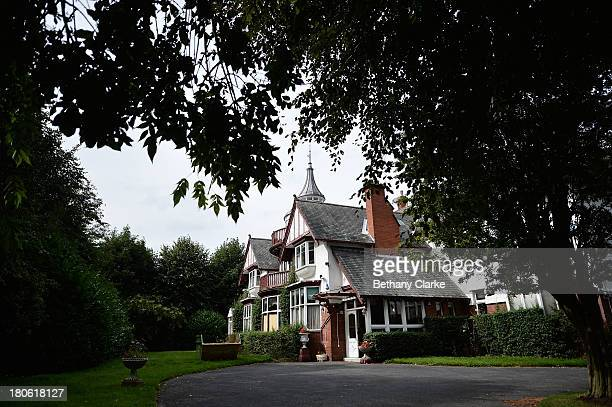 An external view of Pineheath house on September 4 2013 in Harrogate England The untouched 40bedroom house belonged to wealthy Indianborn aristocrats...