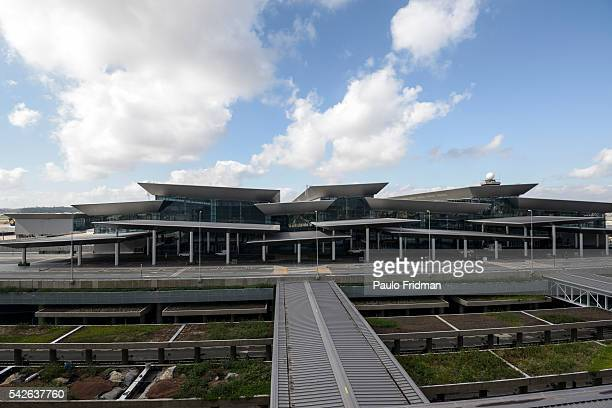 An external view of the recent inaugurated Terminal 3 Guarulhos International Airport Guarulhos Sao Paulo Brazil on Monday September 22nd 2014