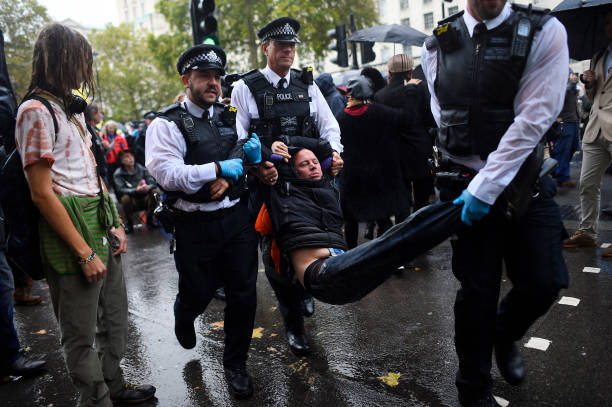 GBR: Climate Change Protests Continue Around Westminster