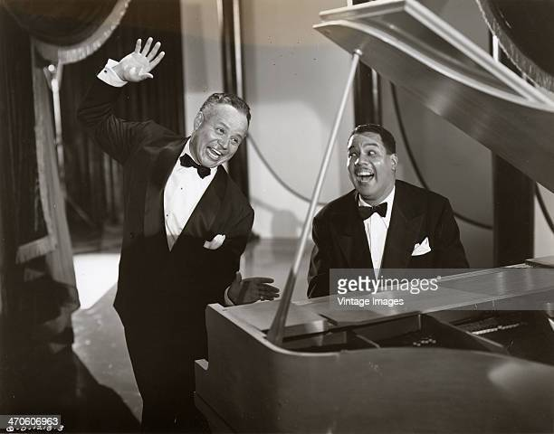 An exuberant duet, probably from a movie, 1950.