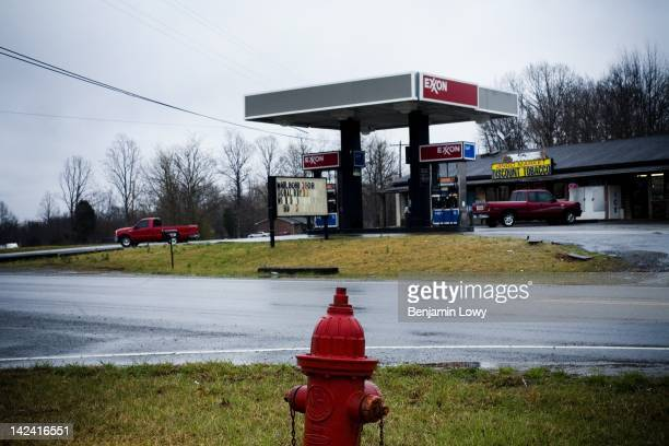 An Exxon gas stations on March 20, 2006 in Fariview, TN.