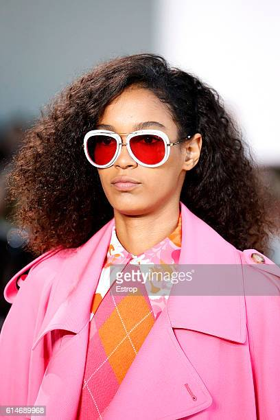 An Eyewear detail at the Michael Kors show at Spring Studios on September 14 2016 in New York City
