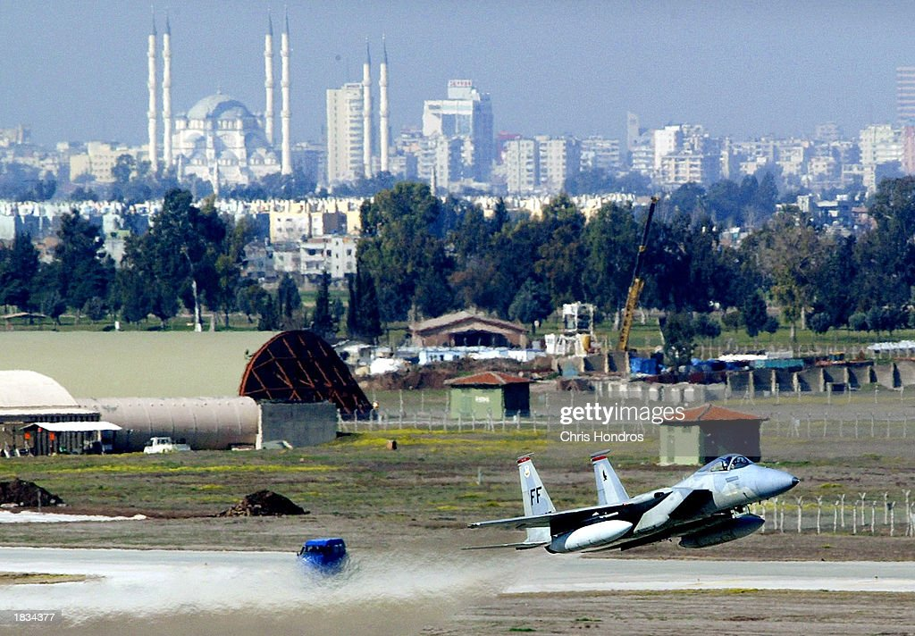 Activity At Incirlik Air Force Base Increases As It Prepares For War : Nieuwsfoto's