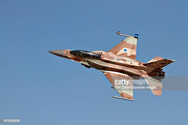 An F-16I Sufa of the Israeli Air Force in flight over Ramon Air Force Base, Israel.