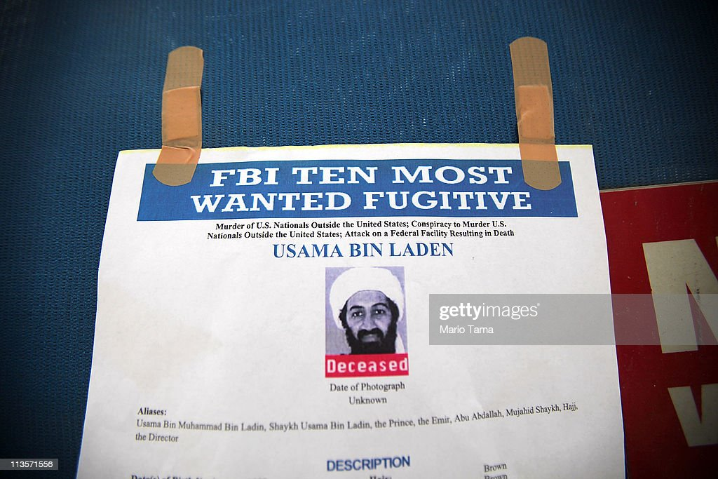 U.S. Reacts To Death Of Osama Bin Laden : News Photo