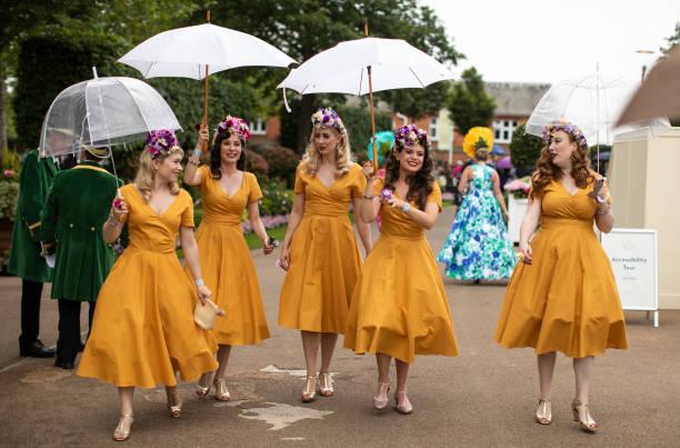 GBR: Racegoers Enjoy the First Day Of Royal Ascot