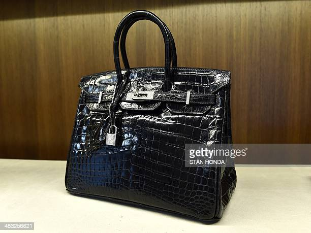 ... new arrivals an hermes extraordinary collection 25 cm shiny black nilo  crocodile birkin bag with 18 e4b82dcf83d71