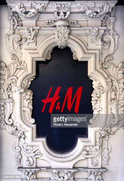 An HM store in downtown San Antonio Texas