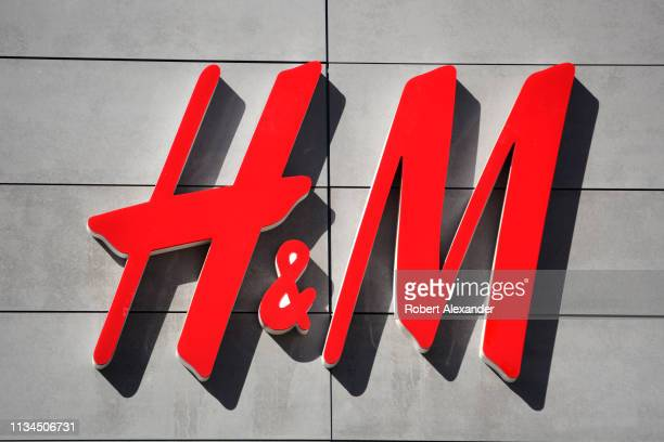 An H&M store in Palm Springs, California.